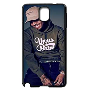 DIY Chris Brown Note3 Cover Case, Chris Brown Personalized Phone Case for Samsung Galaxy Note3 N9000 at Lzzcase