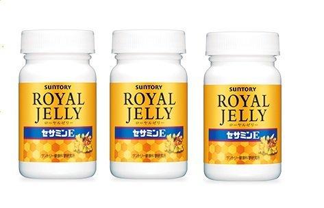 Suntory Royal Jelly + Sesamin E120 Tablets 30 Days×3bottles