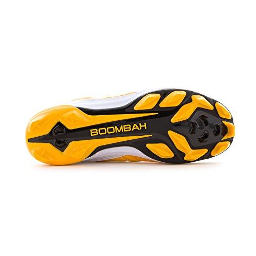 Boombah Dames Endura Gevormde Schoenplaatjes - 18 Kleurenopties - Meerdere Maten Zwart / Goud