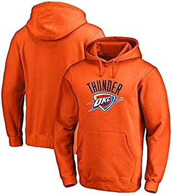 AMJUNM Hombre Mujer Sudadera de Baloncesto NBA Oklahoma City ...