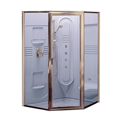 Jacuzzi J920866 Clear Glass Shower Door for 42