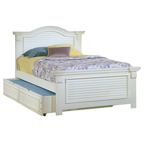 American Woodcrafters Cottage Traditions Full Panel Bed with Trundle