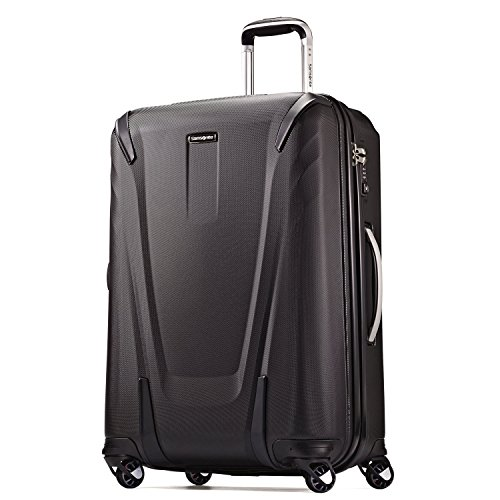 Samsonite Silhouette Sphere 2 Hardside Spinner HS 26, Black, One Size (Samsonite Luggage 26)