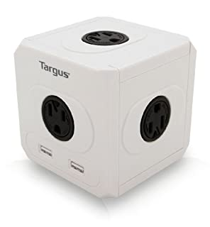 Targus Power Cube 4 outlet with 2 usb charging ports