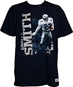 Emmitt Smith Dallas Cowboys #22 Men's Photo Real Traditional T-Shirt