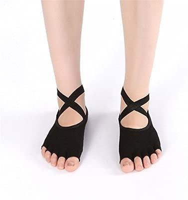 Lfives-sp Calcetines de Yoga Calcetines de Yoga cinturón ...