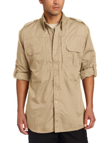 (Propper Men's Long Sleeve Tactical Shirt - X-Large - Khaki)