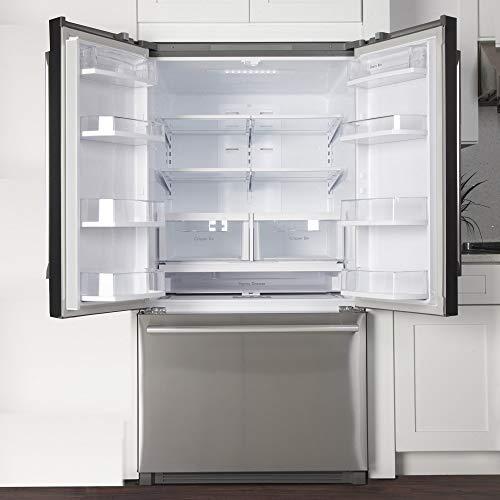 Kucht French Door Refrigerator, 36 Steel
