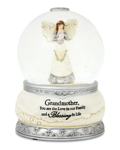 Pavilion Gift Company 82337 Grandmother 100mm Musical Water Globe and Figurine by Pavilion Gift Company