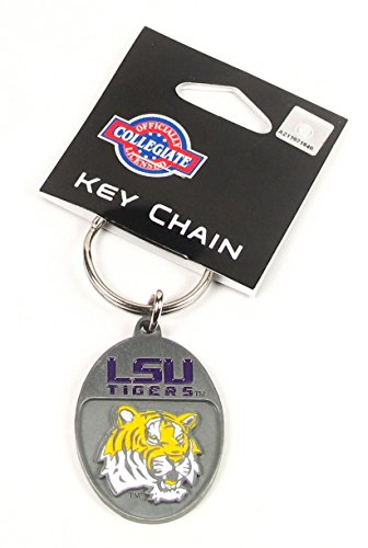 (College Team Logo Key Ring - LSU Tigers)