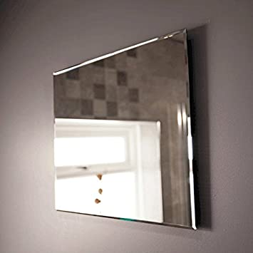 High Quality Bathroom Mirror 500x400 Glass 5mm Bevelled Edge
