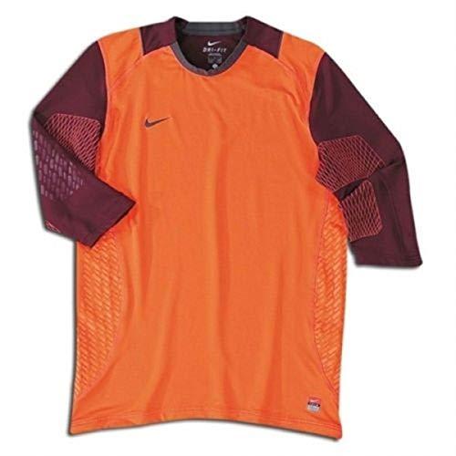 072a7f46437 Nike 3 4 Sleeve Confidence Goalkeeper Jersey Orange