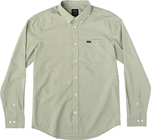 rvca-mens-thatll-do-oxford-long-sleeve-woven-shirt-cadet-green-x-small