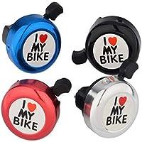 DFGSDFHBGDG Me Gusta Mi Bicicleta Bell -New Aluminio