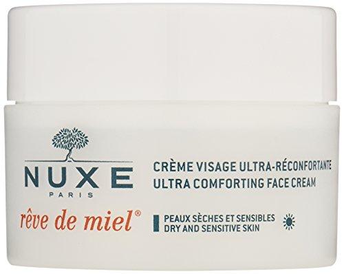 NUXE Rêve de Miel Ultra Comfortable Face Day Cream for Dry and Sensitive Skin, 1.5 oz.