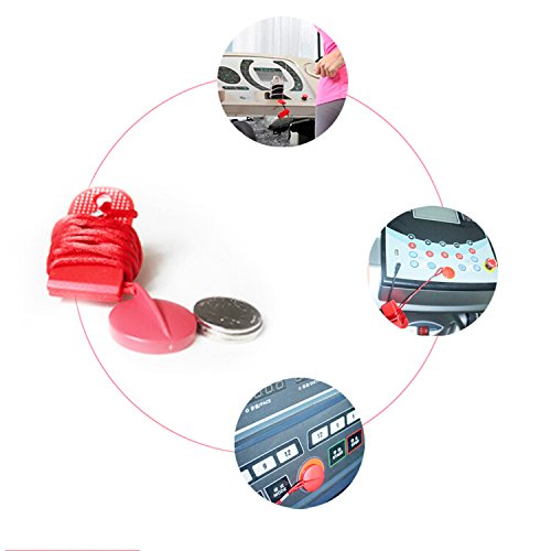 MTSZZF Universal Running Treadmill Machine Safety Key Magnetic Security Switch Lock