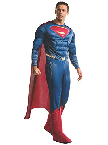 Rubie's Mens Superman Adult Deluxe Costume, Dawn of Justice, Standard -