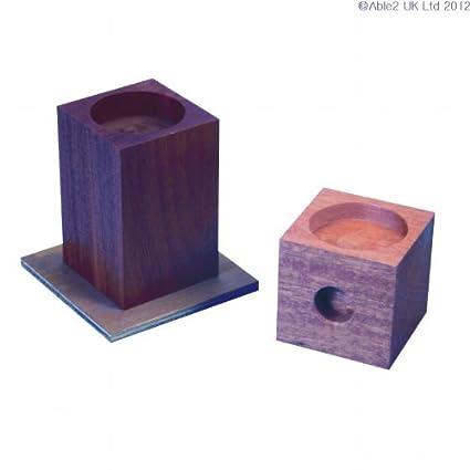 Able2 - Alzas de madera para camas y sillones - 15 cm ...