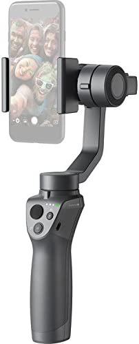 DJI Osmo Mobile 2 Smartphone Gimbal Stabilizer Essential Accessory Bundle Includes: 32GB MicroSD Renewed Carry Case Osmo Base and Microfiber Cloth