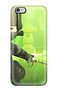 CaseyKBrown Iphone 6 Plus Hybrid Tpu Case Cover Silicon Bumper Mini Ninjas Hiro