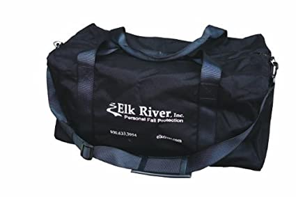 Image Unavailable. Image not available for. Color  Elk River 88010 Heavy  Duty Nylon Duffle Bag with Shoulder Straps ... 71c5dd177da6a