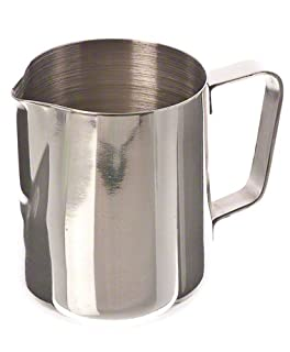 12 Oz Stainless Steel Frothing Pitcher (B000MR6I9I) | Amazon price tracker / tracking, Amazon price history charts, Amazon price watches, Amazon price drop alerts