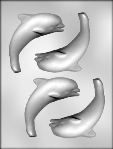 CK Products 4-5/8-Inch Dolphin Chocolate Mold -