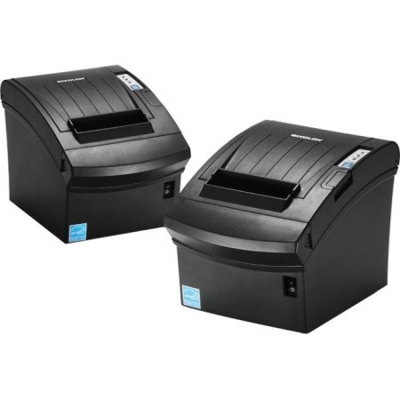 (Bixolon SRP-350PLUSIIICOPG Thermal Printer with Power Supply and USB Cable, Parallel/USB/Ethernet, Black)