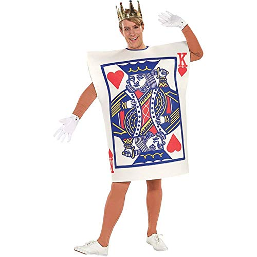 King And Queen Costumes Kids - Rubie's Men's King of Hearts Costume,
