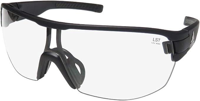 pálido sensación Palmadita  Amazon.com: adidas New ZONYK Midcut L Sunglasses Black Matte Vario ANTIFOG  Clear/Gray: Clothing