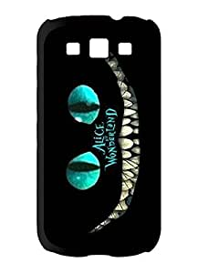 Season.C Alice In Wonderland Cat Hard Back Case Cover for Samsung Galaxy S3 i9300 by runtopwell