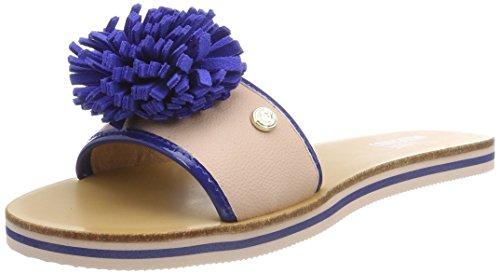 Love Moschino Damen Sabotd.2154418/20 BO.PU RS/VR.PU BT Pantoletten mehrfarbig (Pink-Bluette)