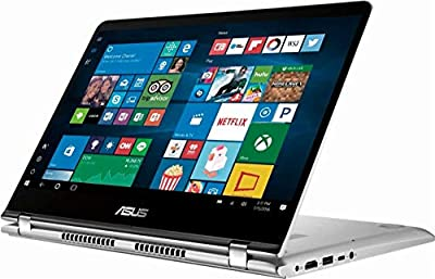 "2019 New ASUS Q405UA Premium Flagship 2-in-1 14"" FHD Touchscreen Laptop, Intel Quad-Core i5-8250U up to 3.4GHz (Benchmark>i7-7500U), 8GB RAM, 1TB HDD, Backlit Keyboard, WiFi, Bluetooth"