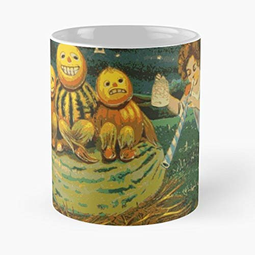 Spooky Creepy Jackolantern Jack - Best Gift Coffee Mugs Unique Ceramic Novelty Cup