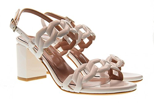 Sandalias Tacón Albano Alto Zapatos Color Mujer 2258 Blanco De fxOEvq