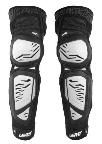Leatt 5014210051 EXT Knee and Shin Guard (White, Small/Medium) by Leatt Brace
