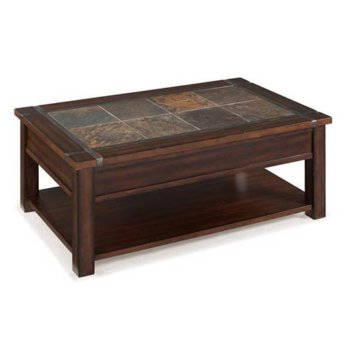 Magnussen T2615 Roanoke Rectangular Lift Top Cocktail Table
