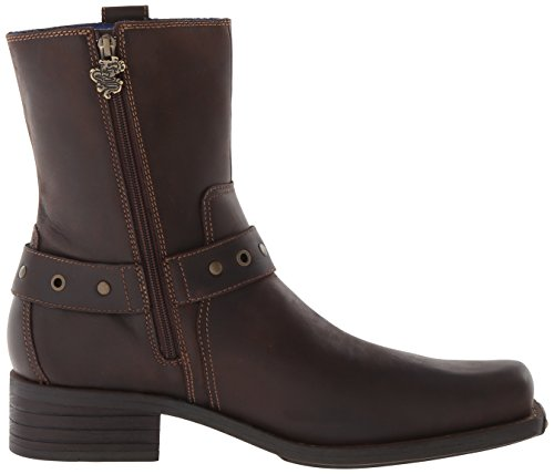 Mark Nason Los Angeles Collezione Dragon Collection Mens Finley Boot Boot Dark Brown