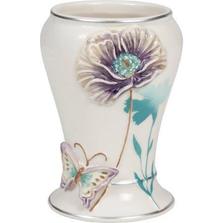 Creative Bath Garden Gate Ceramic Tumbler, Lilac from (Creative Bath Products)