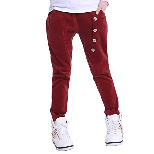 Corduroy Girls Pants - 4