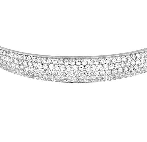 Tuscany Silver Fine Necklace Bracelet Anklet 925 Argent 14 Centimeters