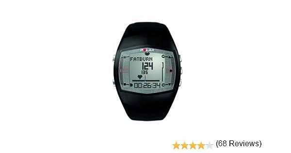 Polar FT40 - Reloj con pulsómetro y con medición de condición física, Consumo de calorías y de Efecto del Entrenamiento para Fitness y Cross-Training (Negro): Amazon.es: Deportes y aire libre