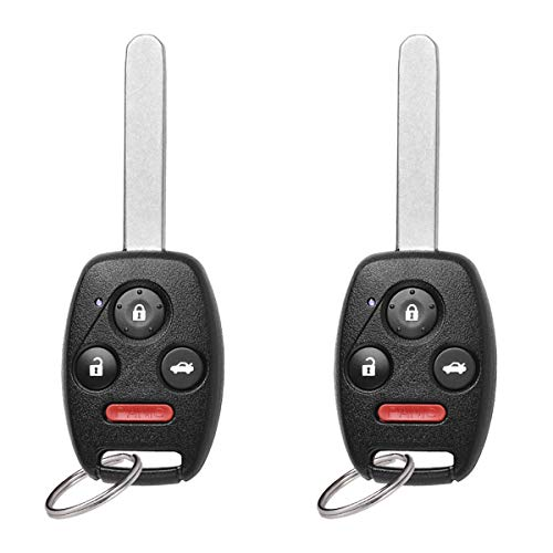 YITAMOTOR Key Fob Keyless Entry Remote Compatible for 2008 2009 2010 2011 2012 Honda Accord (Sedan Only) Car Key Replacement for KR55WK49308 ()