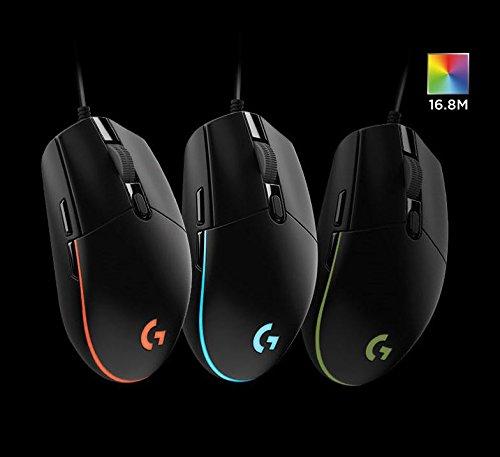 5 Pack) Logitech G102 IC PRODIGY Gaming Mouse Optical 6,000