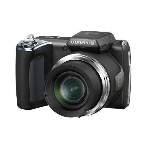 Olympus SP-620UZ 16MP Digital Camera with 21x Optical Zoom (Black) (Old Model) (Olympus Optical Camcorder)