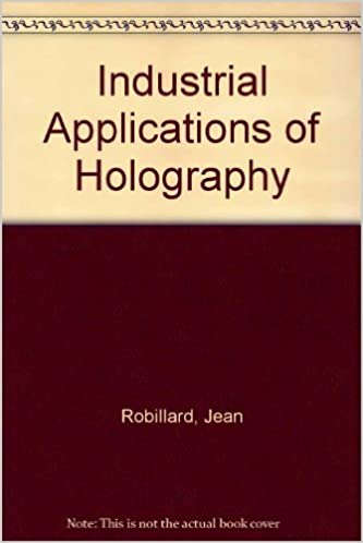 Industrial Applications of Holography: Jean Robillard, H