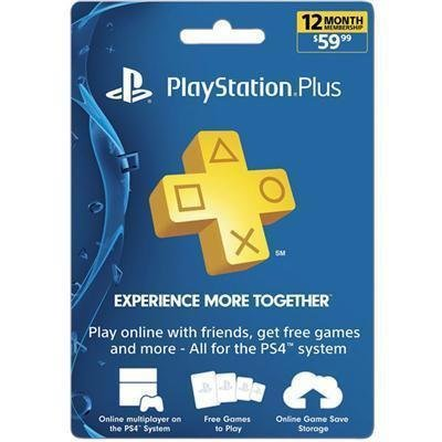 PS Plus 12Mnth Sub Card FY17 -  SONY, 3002074