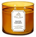 White Barn Bath & Body Works 3 Wick Candle Salted Caramel