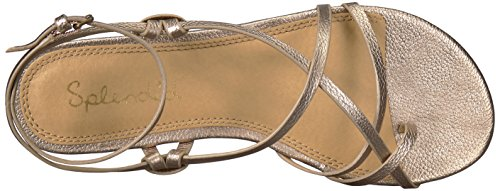 Splendid Women's Flynn Sandal, Champagne, 7 Medium US by Splendid (Image #7)