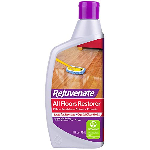 Rejuvenate All Floors Restorer Polish Fills in Scratches Protects & Restores Shine No Sanding Required Works on Hardwood, Laminate, Vinyl, Tile, Linoleum, Terracotta and More